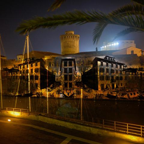 Proforma videomapping - Effetto Venezia