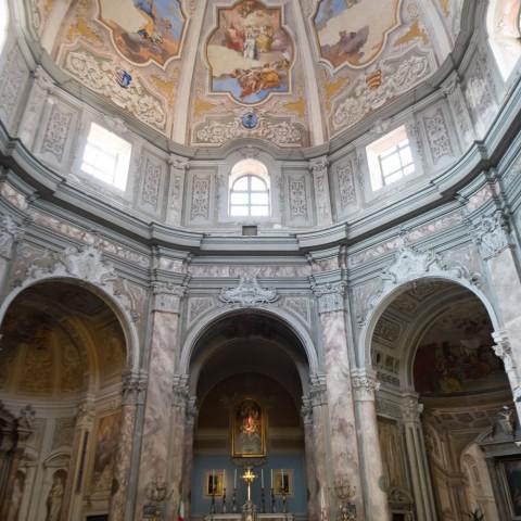 Chiesa di Santa Caterina. interno. Foto Marco Filippelli