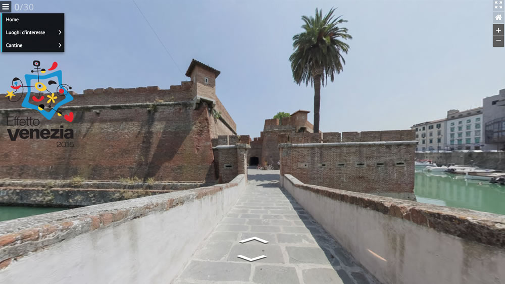 Virtual Tour del quartiere Venezia, Livorno