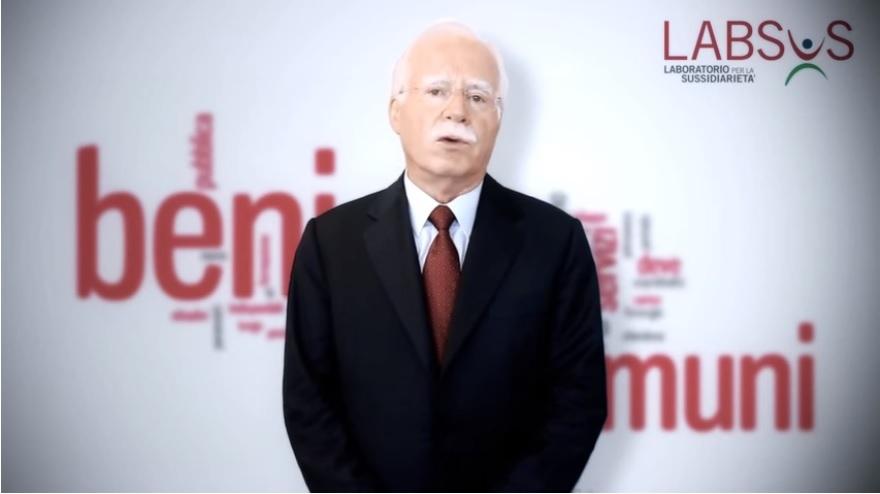 Il Prof. Gregorio Arena, Presidente di LABSUS (Laboratorio per la Sussidiarietà)