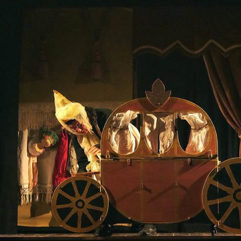 Cenerentol..o - Habanera Teatro. Effetto Venezia 2017, Livorno.