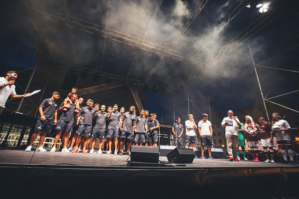 presentazione Livorno calcio 2017