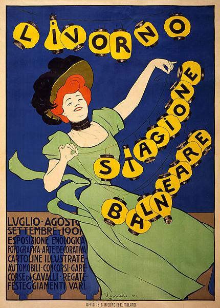 430px-Livorno_stagione_balneare,_poster_by_Leonetto_Cappiello,_1901