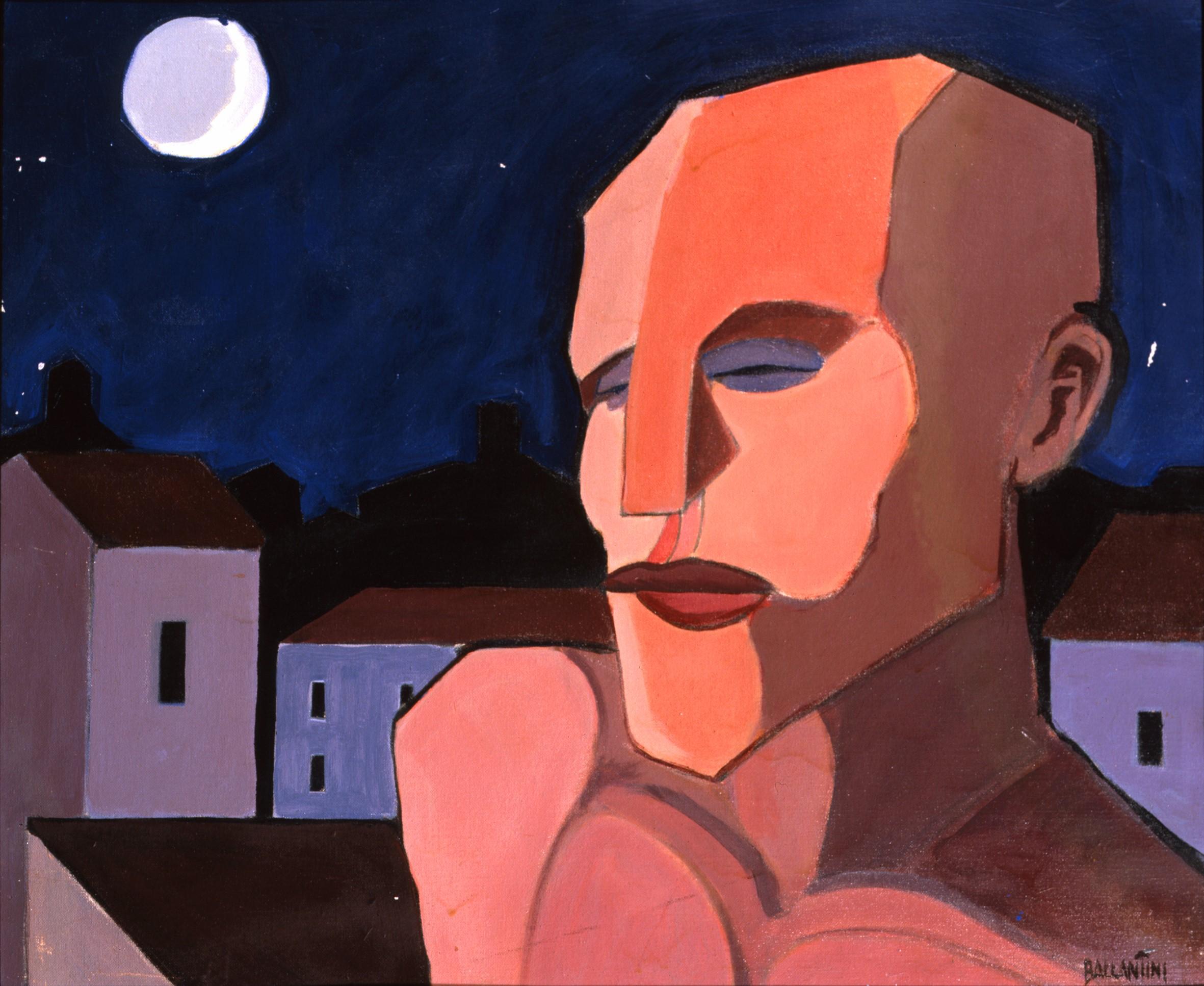 1993 Ballantini Cartone telato Ph Nadia Macchi