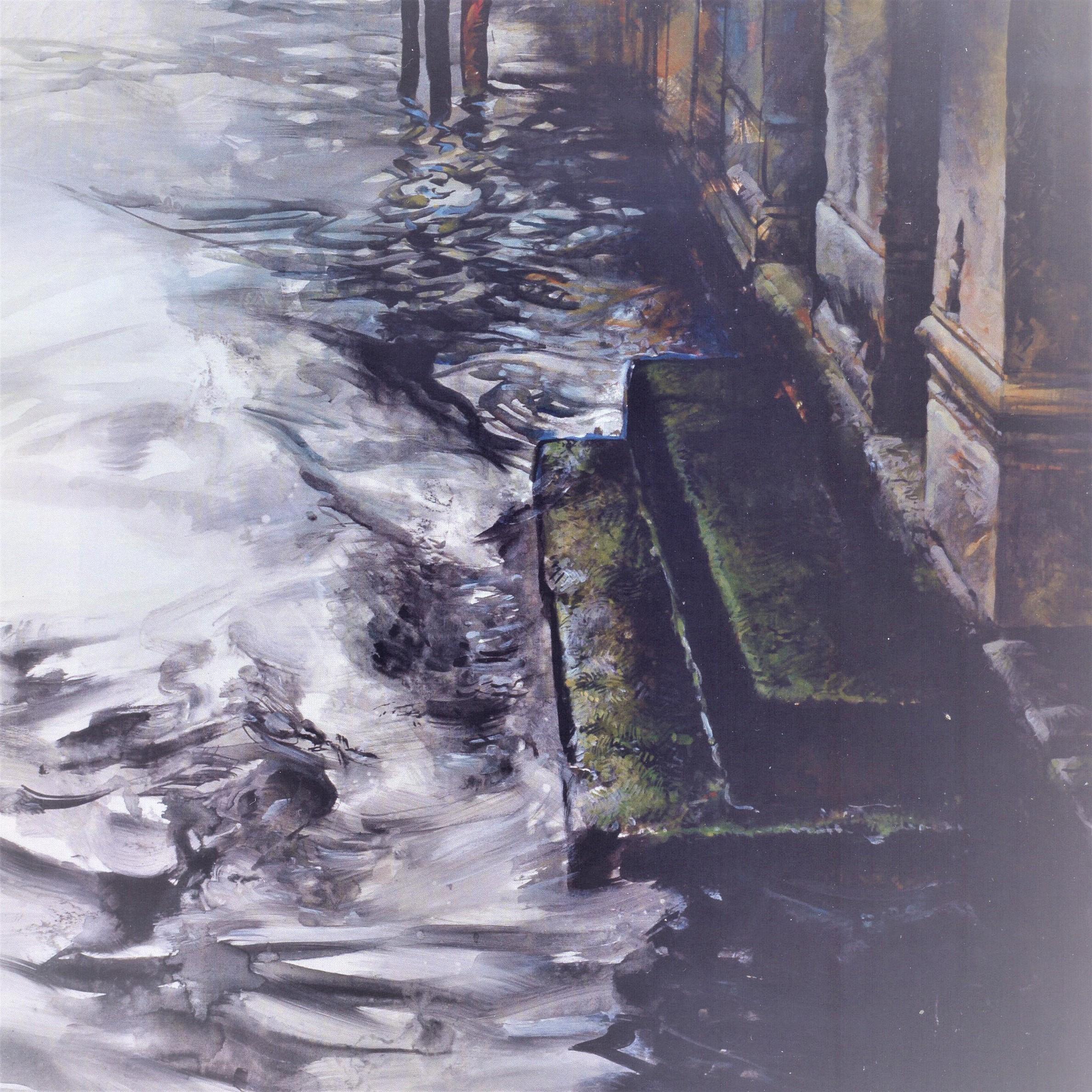 Acquanervosa – Particolare di un olio di Federico Maria Sardelli