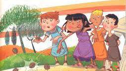 Ananassi – bambini romani