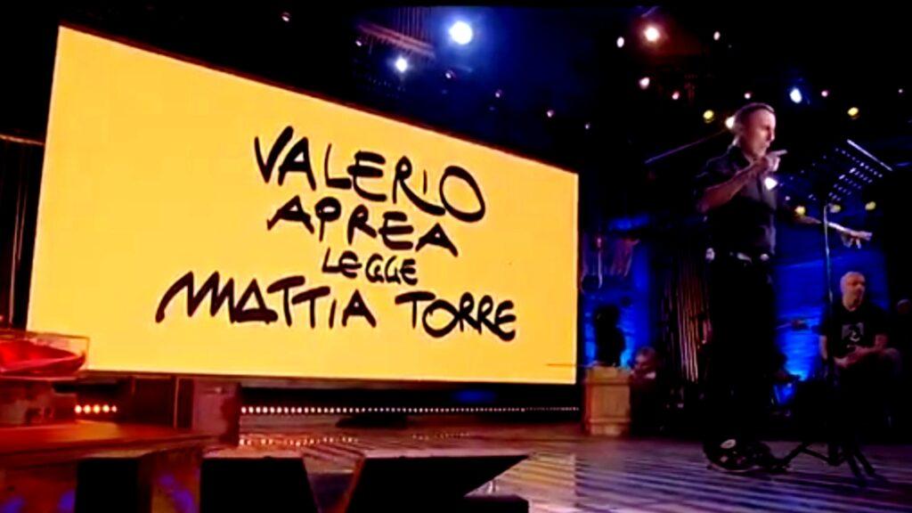 Valerio Aprea legge Mattia Torre